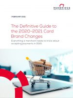 Front cover of card brand changes guide